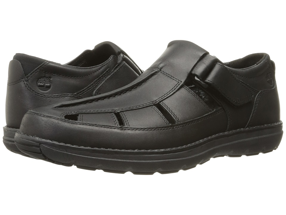 Timberland - Barrett Park Fisherman (Black) Men's Shoes