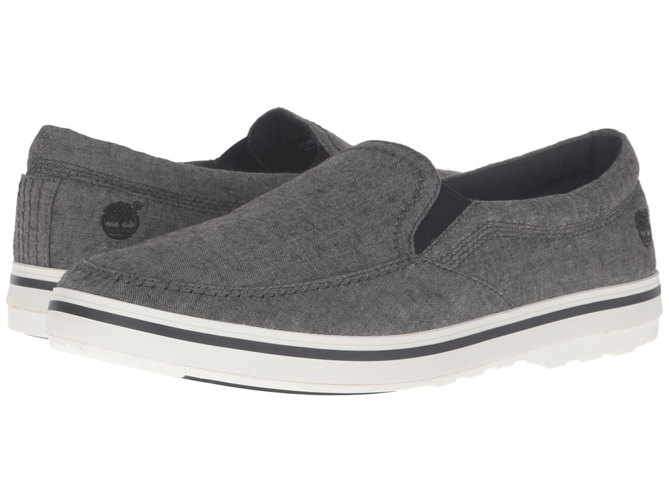 Timberland - North End Cruiser Slip-On (Grey) Men's Slip on Shoes
