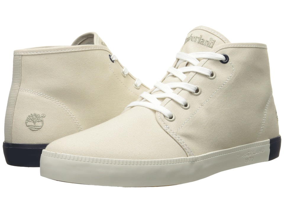 Timberland Newport Bay Canvas Chukka (Off-White) Men