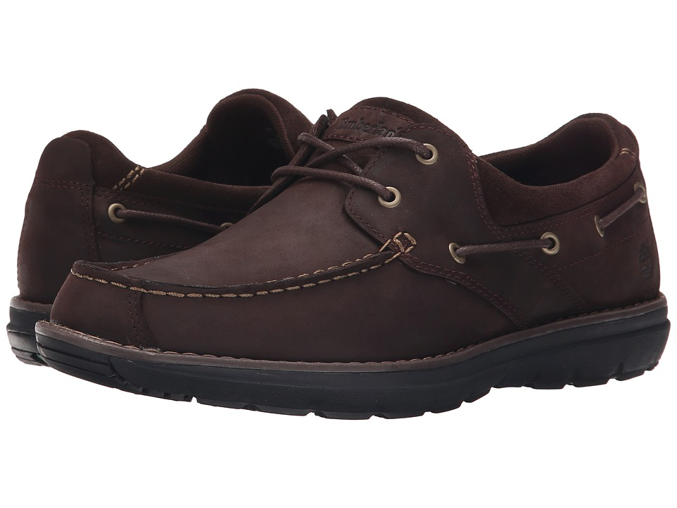 Timberland - Barrett 2 Eye Boat (Medium Brown) Men