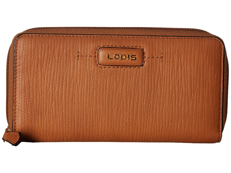 Lodis Accessories - Cordoba Ada Zip Wallet (Toffee) Wallet Handbags