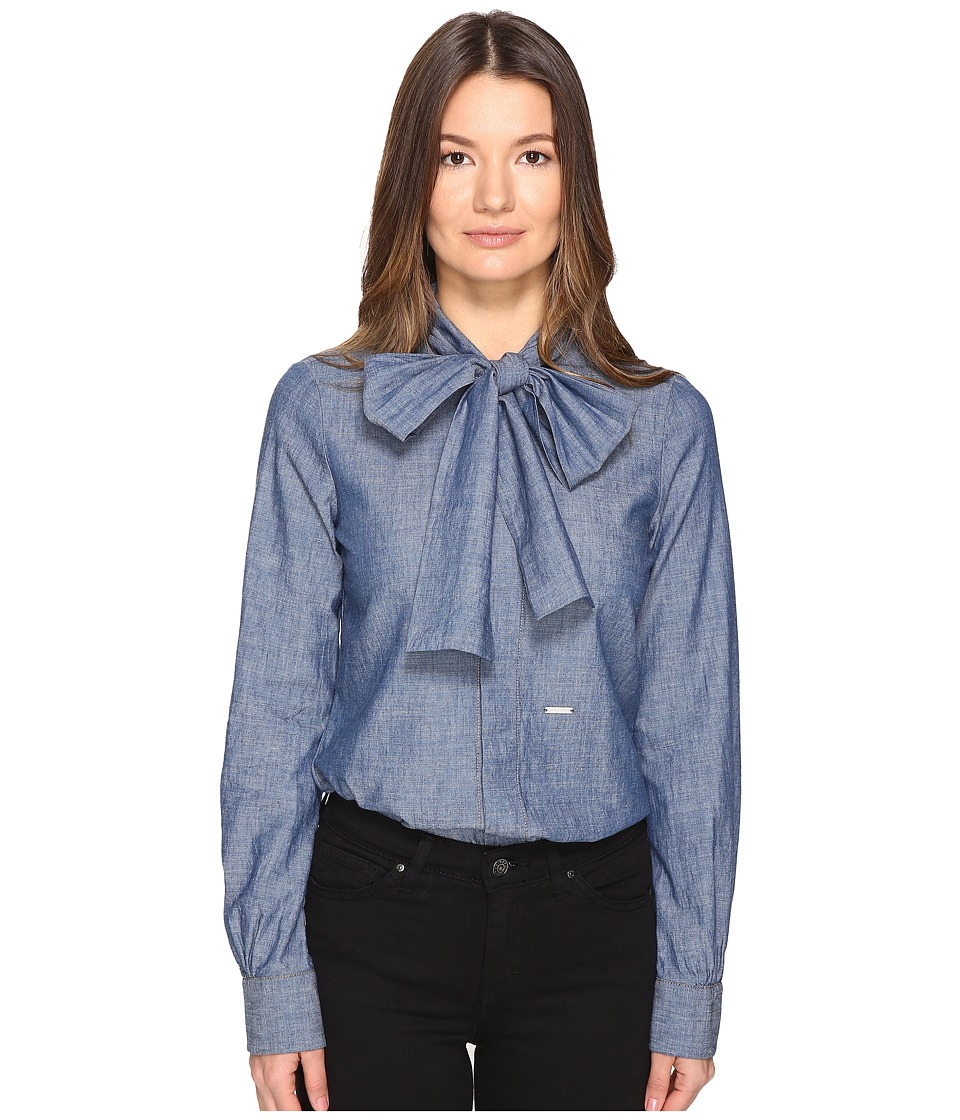 DSQUARED2 - Bow Shirt (Denim) Women's Clothing
