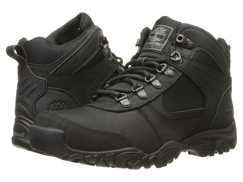 Timberland - MT. Abraham Mid (Black) Men's Shoes