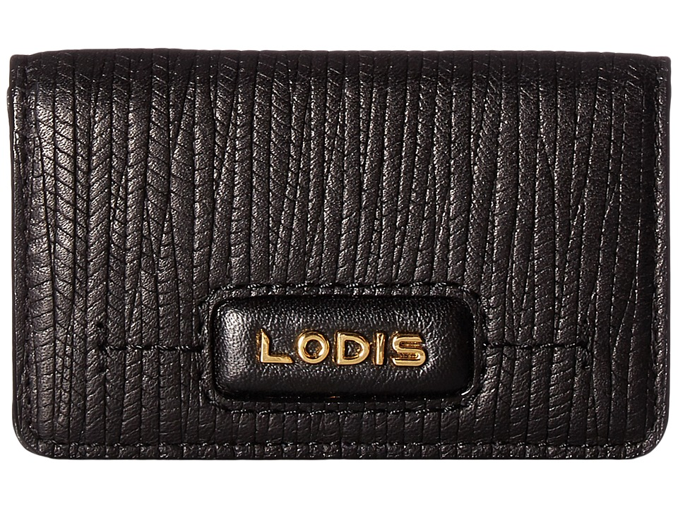 Lodis Accessories - Cordoba Mini Card Case (Black) Credit card Wallet