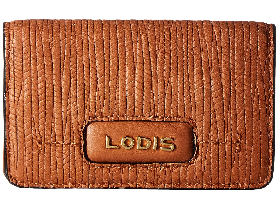 Lodis Accessories - Cordoba Mini Card Case (Toffee) Credit card Wallet