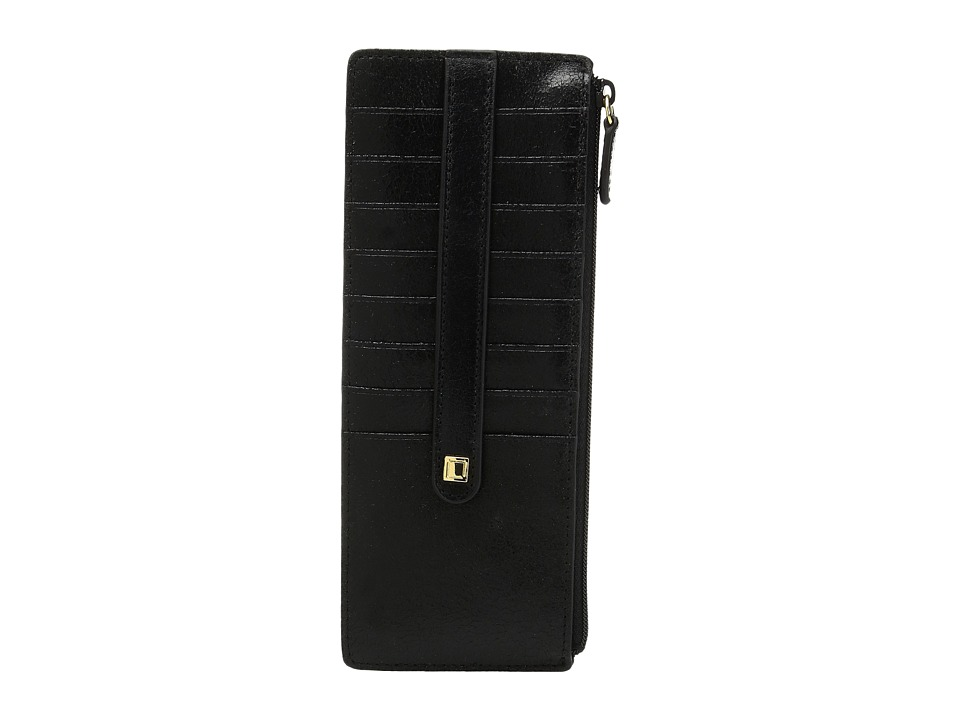 Lodis Accessories - Vanessa Variety Credit Card Case with Zipper Pocket (Black) Credit card Wallet