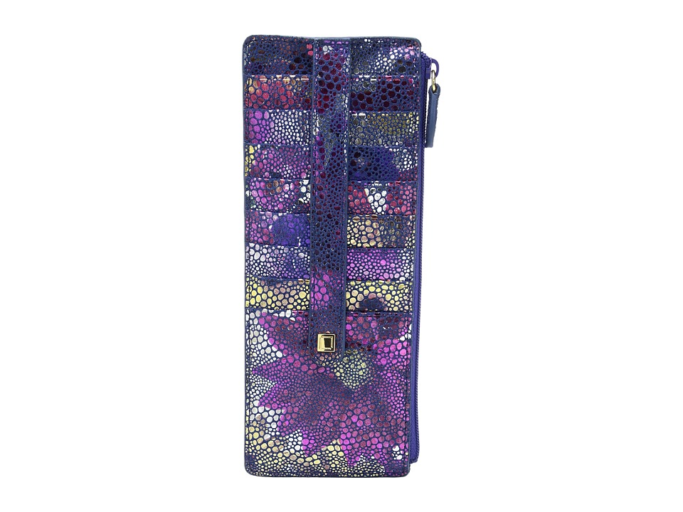 Lodis Accessories - Vanessa Variety Credit Card Case with Zipper Pocket (Multi) Credit card Wallet
