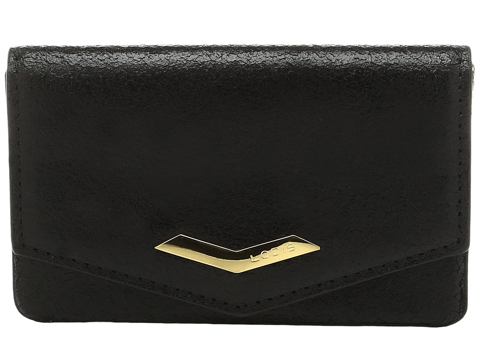 Lodis Accessories - Vanessa Variety Maya Card Case (Black) Credit card Wallet