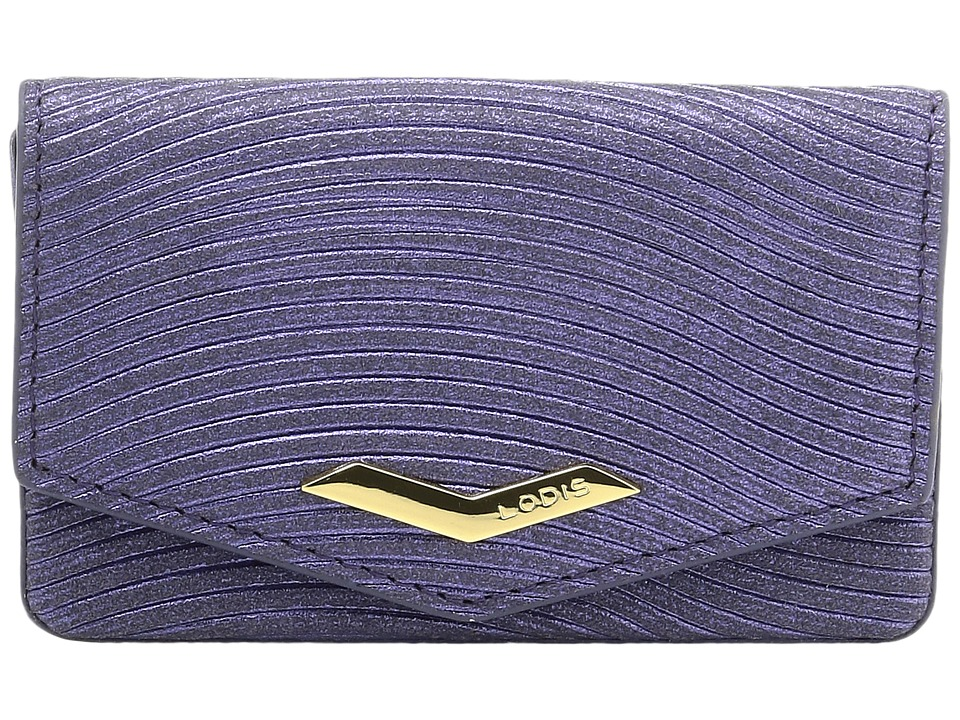 Lodis Accessories - Vanessa Variety Maya Card Case (Purple) Credit card Wallet