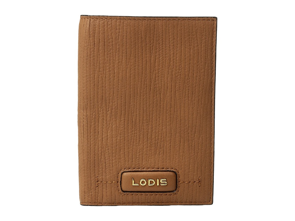 Lodis Accessories - Cordoba Passport Cover (Toffee) Credit card Wallet