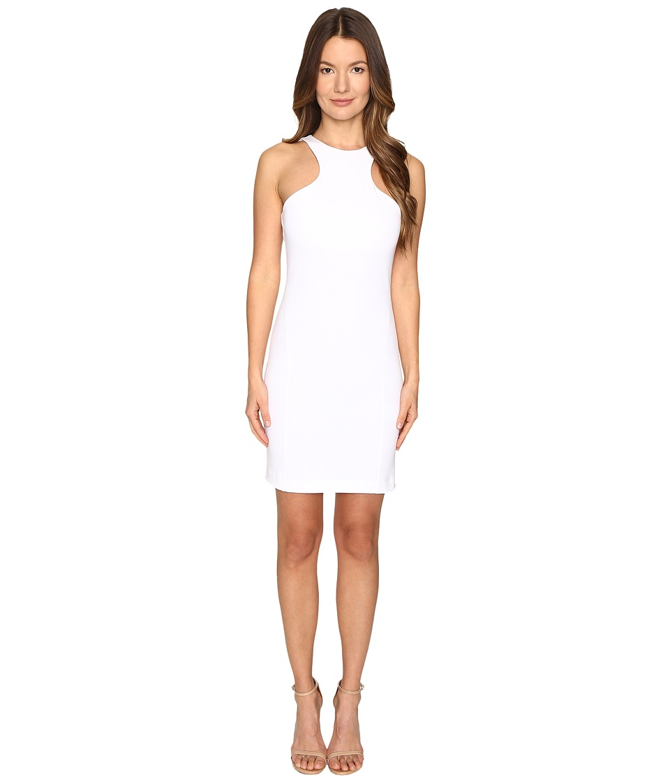 DSQUARED2 - Compact Cotton Jersey Tank Dress (White) Women's Dress