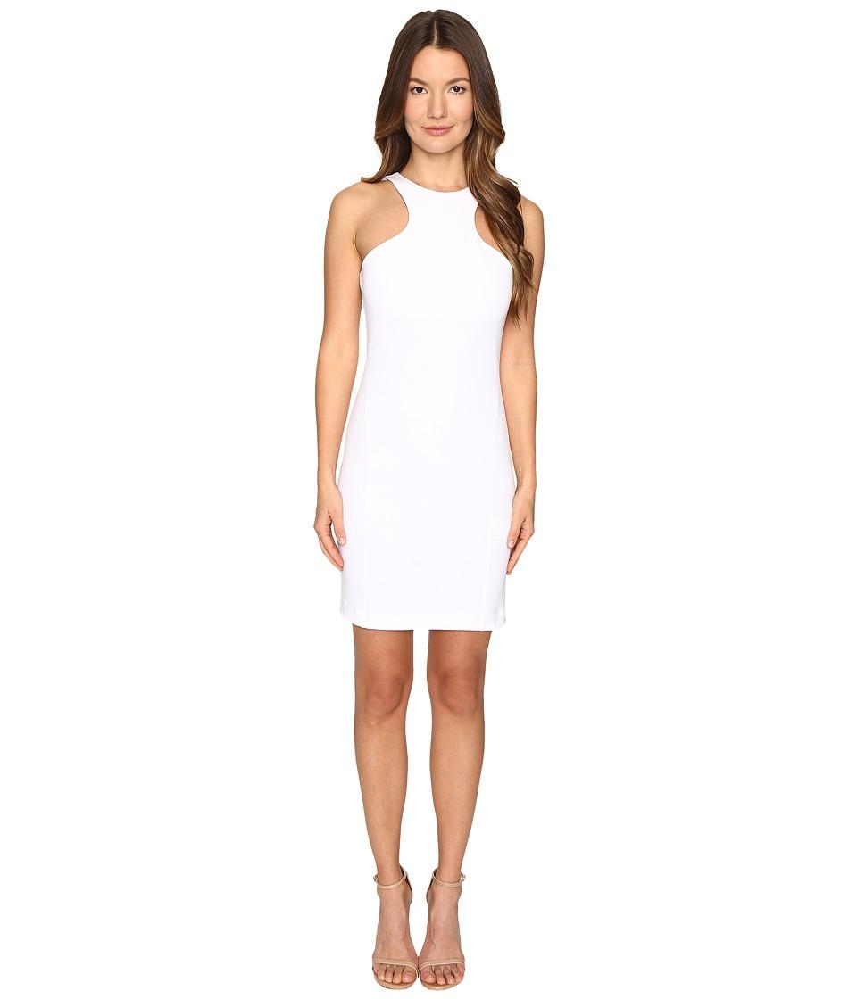 DSQUARED2 - Compact Cotton Jersey Tank Dress (White) Women's Dress