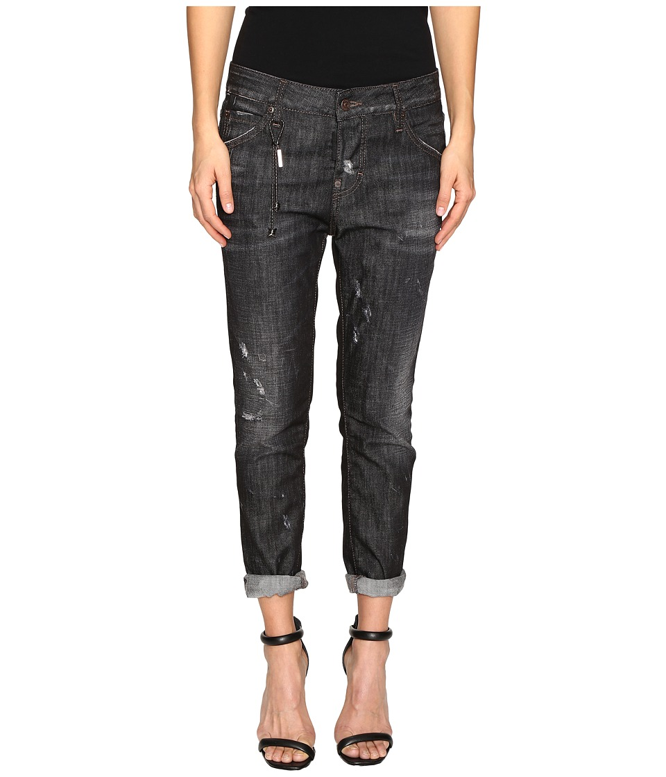 DSQUARED2 - Cool Girl Denim in Black Wash (Black Denim Wash) Women's Jeans