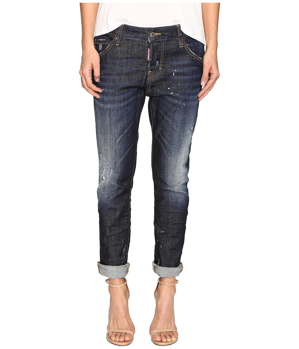 DSQUARED2 - Cool Girl Denim in Easy Everyday Wash (Blue) Women's Jeans
