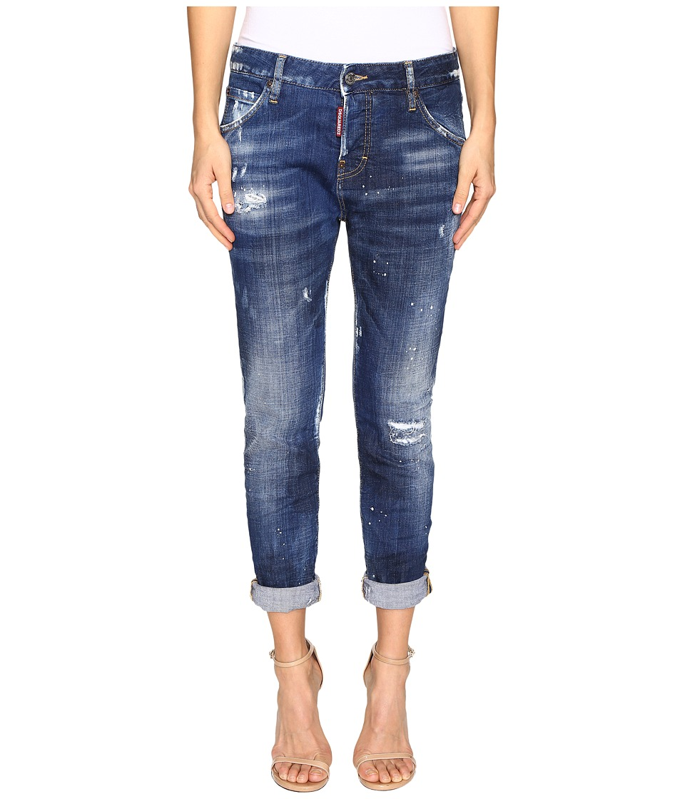 DSQUARED2 - Cool Girl in White Hi Light Wash (Blue) Women's Jeans