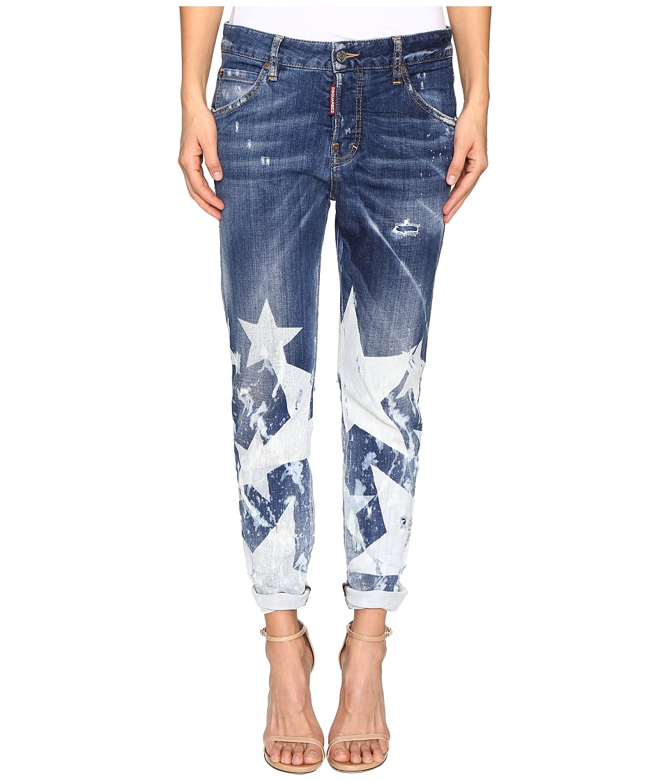 DSQUARED2 - Cool Girl Denim in Big Star Wash (Blue) Women's Jeans