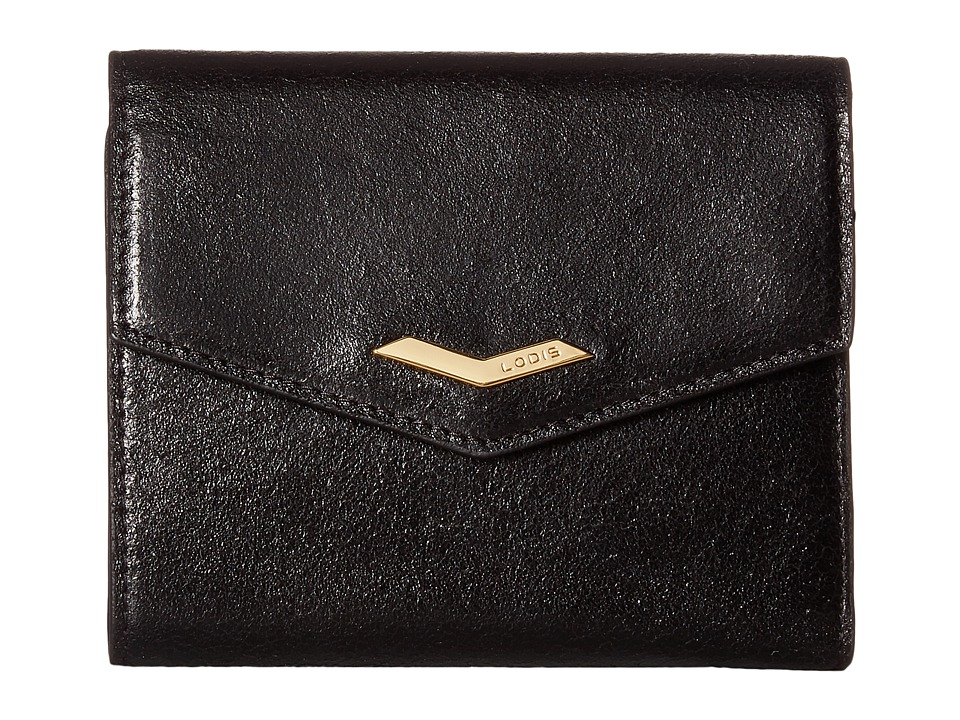 Lodis Accessories - Vanessa Variety Lana French Purse (Black) Wallet Handbags