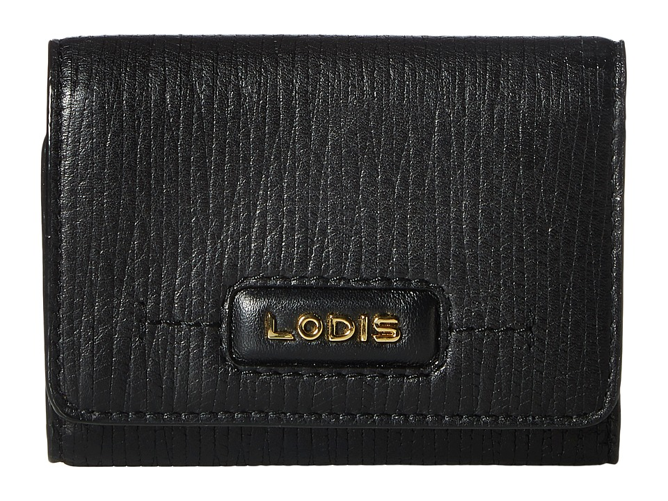 Lodis Accessories - Cordoba Mallory French Purse (Black) Wallet Handbags