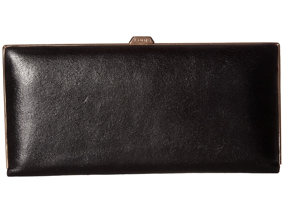 Lodis Accessories - Vanessa Variety Andra Clutch Wallet (Black) Wallet Handbags