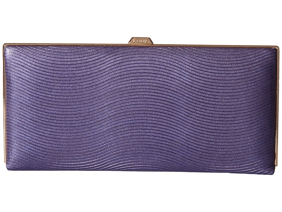 Lodis Accessories - Vanessa Variety Andra Clutch Wallet (Purple) Wallet Handbags
