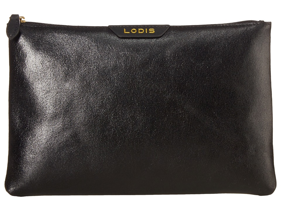 Lodis Accessories - Vanessa Variety Flat Pouch (Black) Travel Pouch