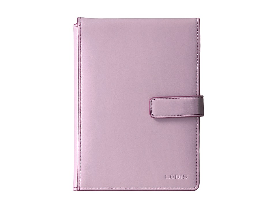 Lodis Accessories - Audrey Passport Wallet w/ Ticket Flap (Iced Violet/Beet) Checkbook Wallet