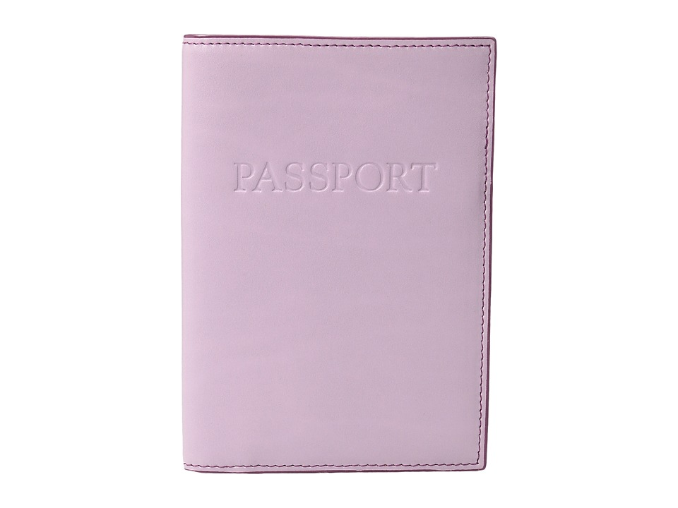 Lodis Accessories - Audrey Passport Cover (Iced Violet/Beet) Wallet