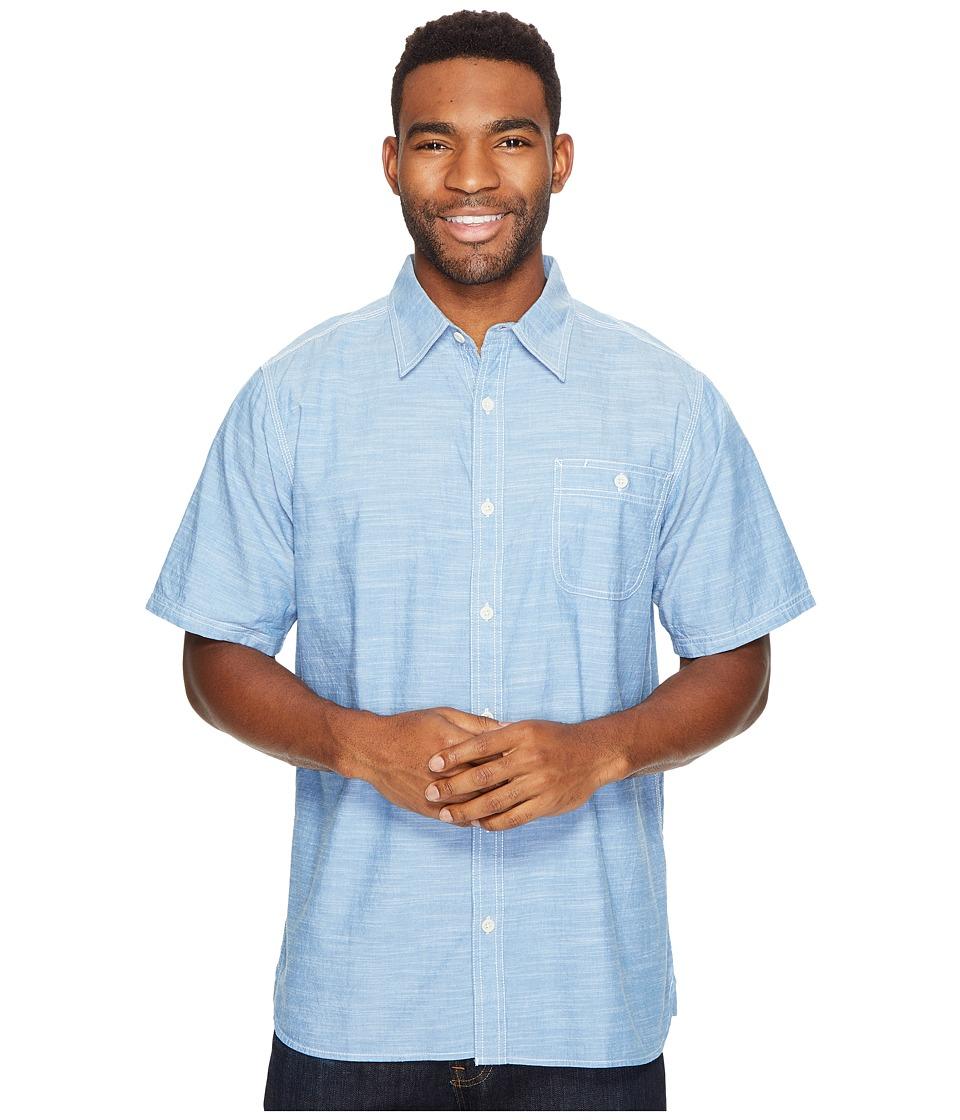 Mountain Khakis - Mountain Chambray S/S Shirt (Riviera) Men's T Shirt