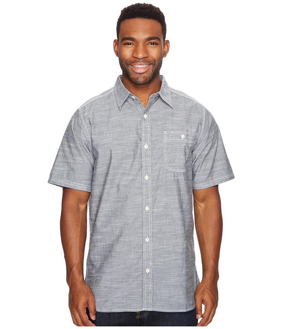Mountain Khakis - Mountain Chambray S/S Shirt (Black) Men's T Shirt