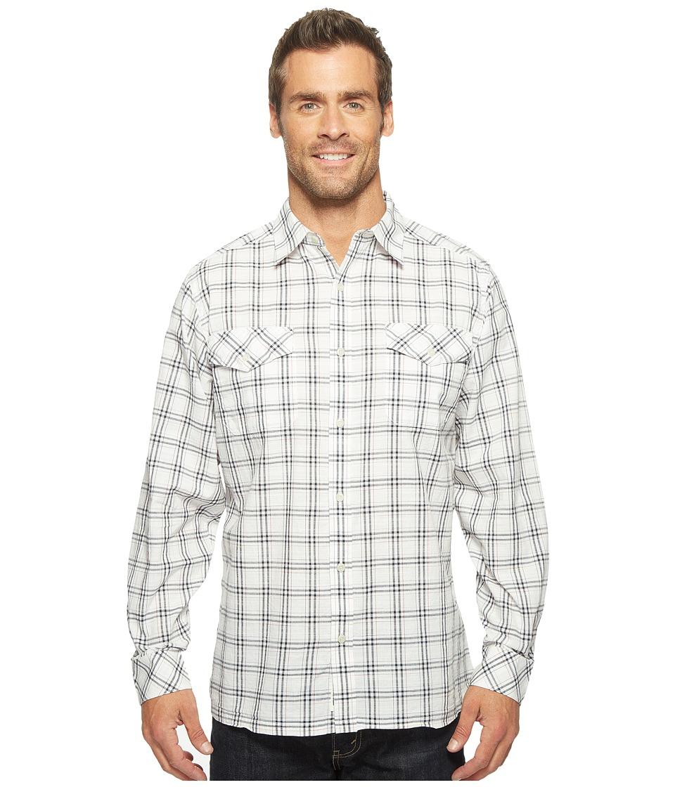 Mountain Khakis - Shoreline L/S Shirt (Navy) Men's T Shirt