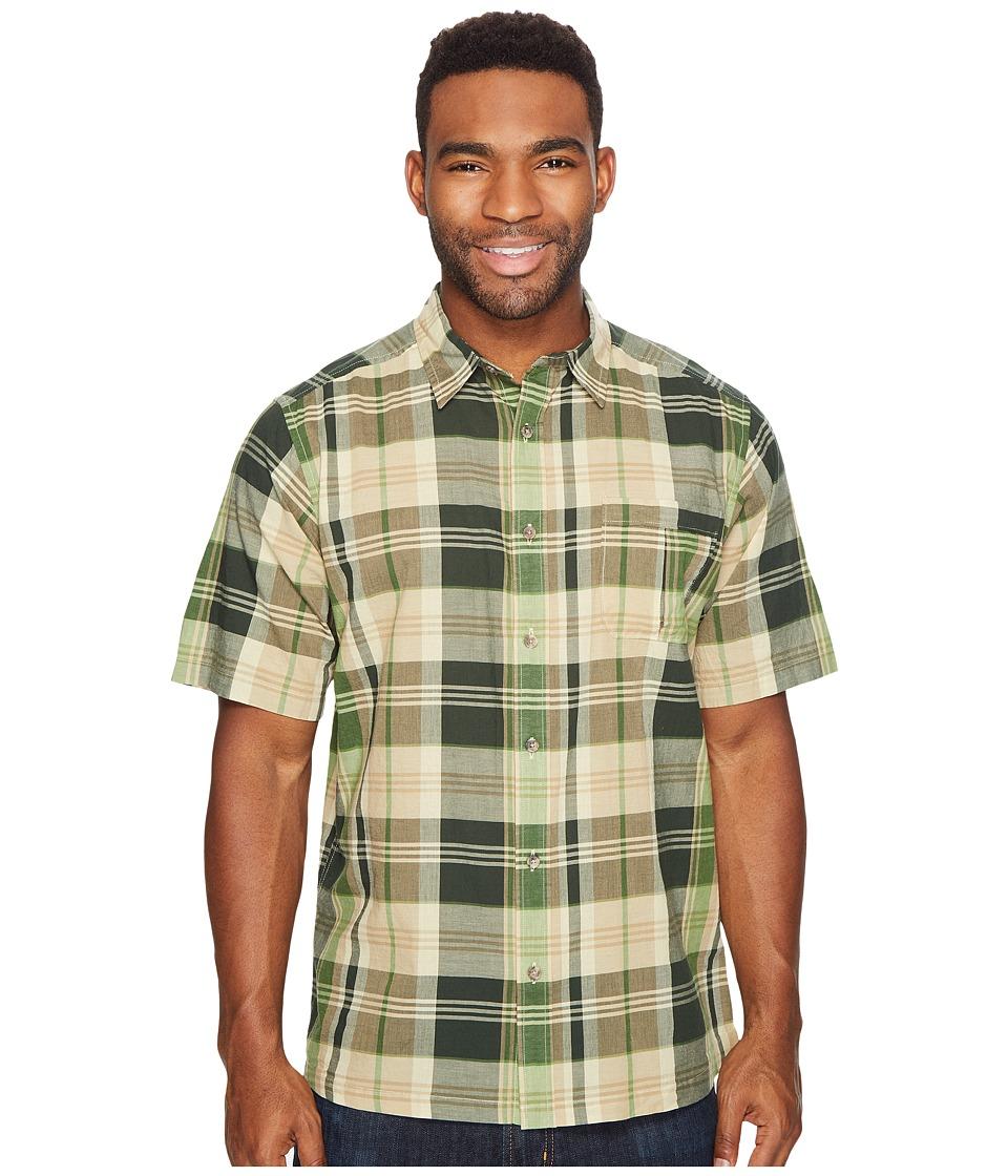 Mountain Khakis - Tomahawk Madras Shirt (Kelp) Men's T Shirt