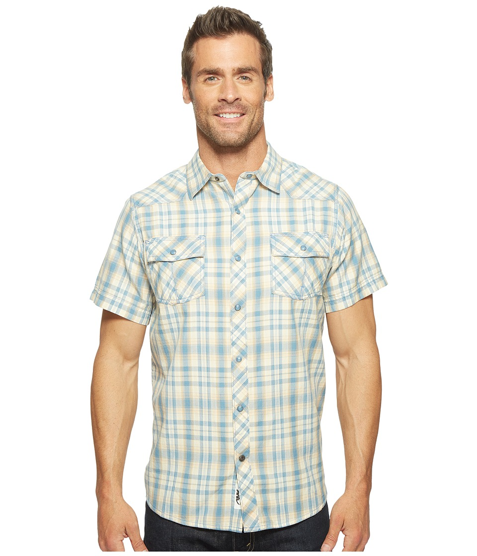 Mountain Khakis - Rodeo Short Sleeve Shirt (Blue Ridge) Men's Clothing