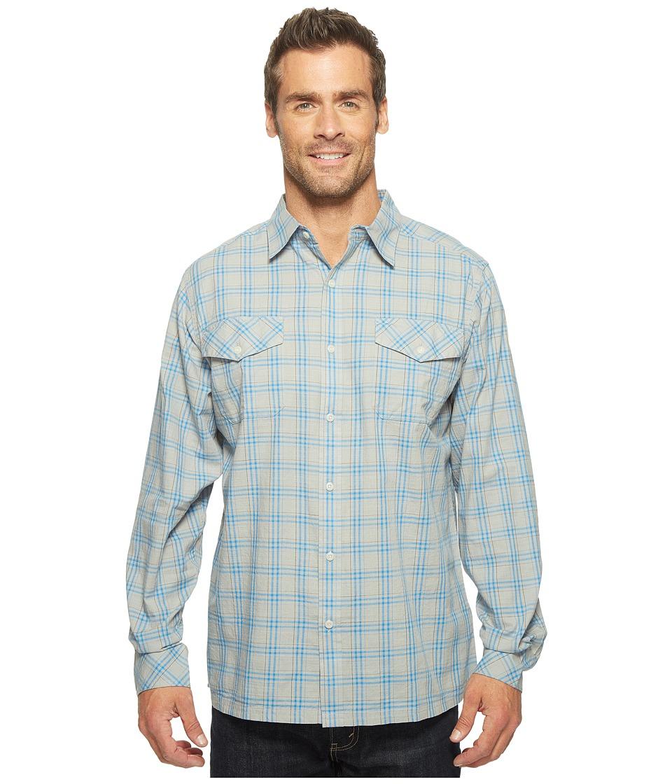 Mountain Khakis - Shoreline L/S Shirt (Maritime) Men's T Shirt
