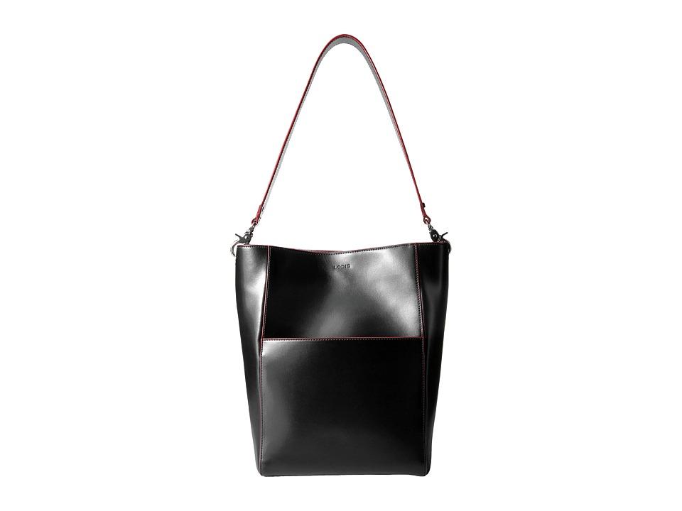Lodis Accessories - Audrey Berta Bucket Bag (Black) Bags