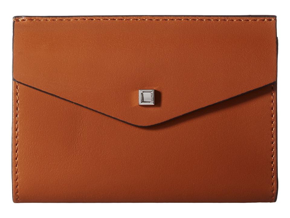 Lodis Accessories - Blair Rachel French Purse (Toffee/Taupe) Handbags