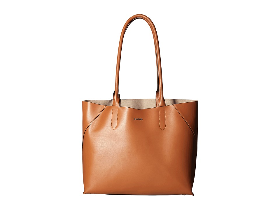 Lodis Accessories - Blair Cynthia Tote (Toffee/Taupe) Tote Handbags