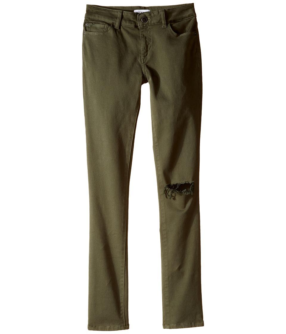 DL1961 Kids - Chloe Skinny Jeans in Cactus (Big Kids) (Cactus) Girl's Jeans