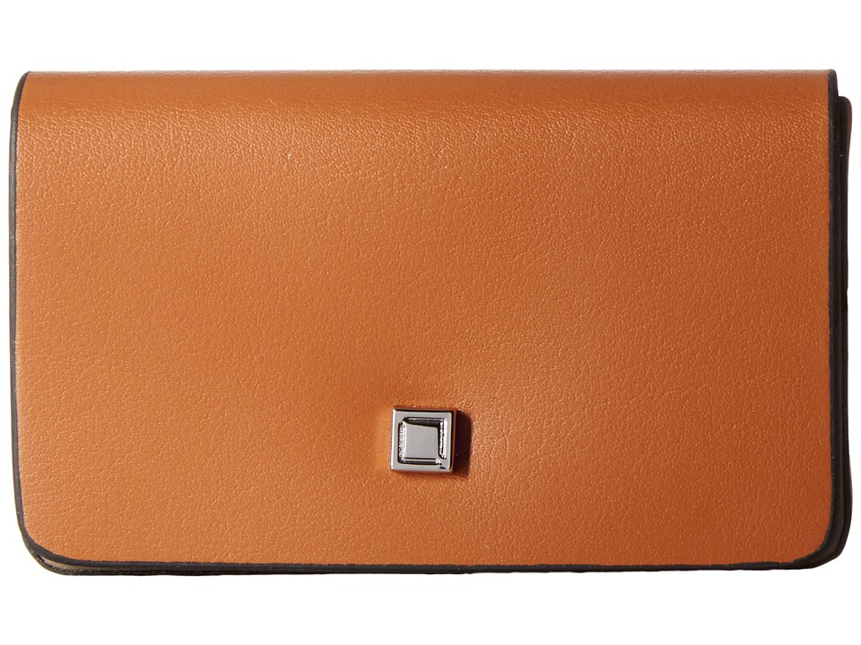 Lodis Accessories - Blair Mini Card Case (Toffee/Taupe) Credit card Wallet