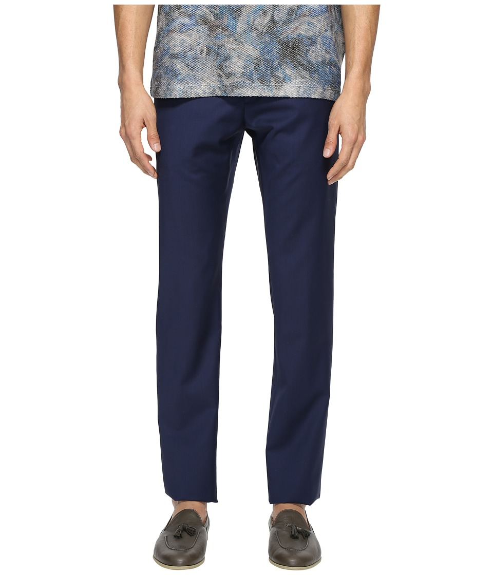 Vivienne Westwood - Basic Wool Classic Trousers (Navy) Men's Casual Pants