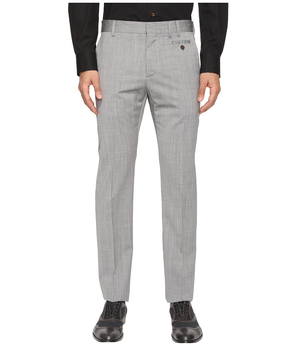Vivienne Westwood - Basic Wool Classic Trousers (Grey) Men's Casual Pants