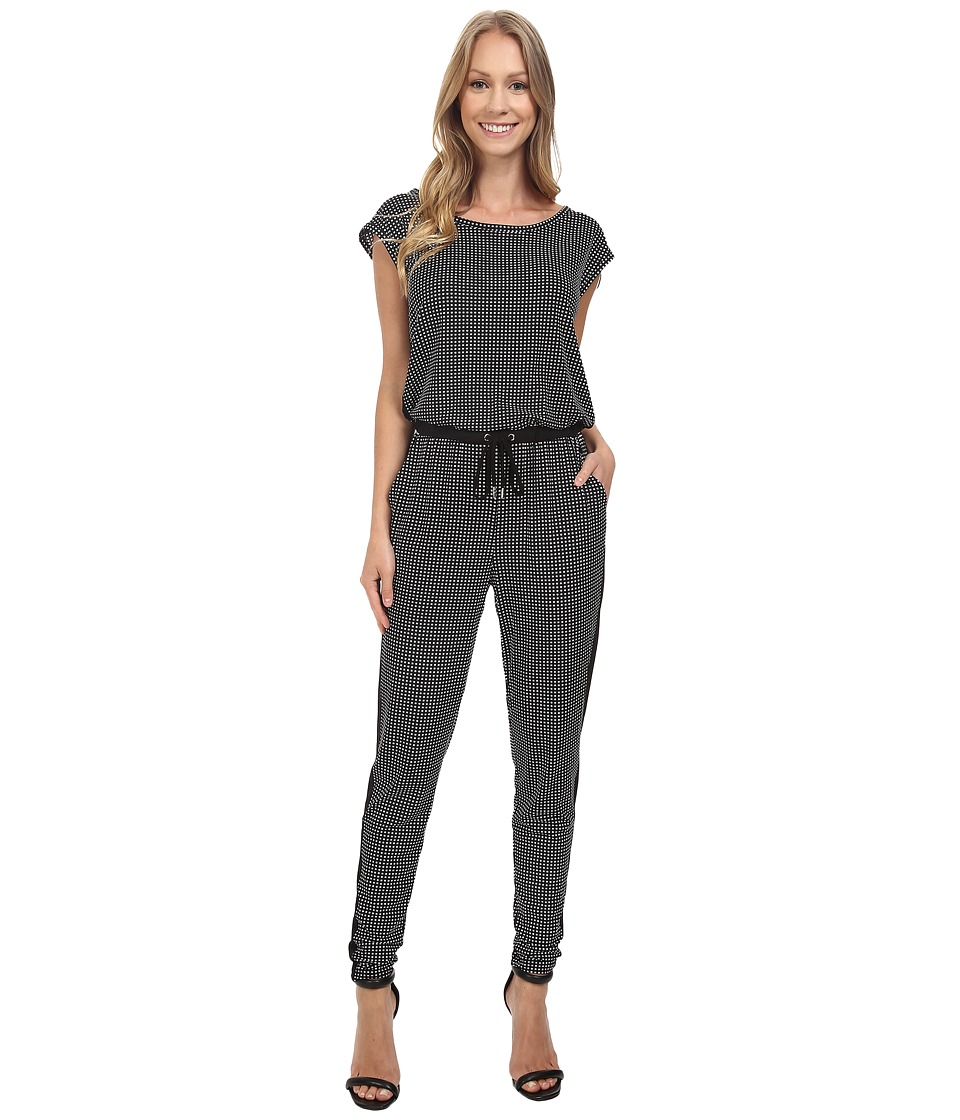 MICHAEL Michael Kors - Harget Side String Jumpsuit (Black) Women's Jumpsuit & Rompers One Piece