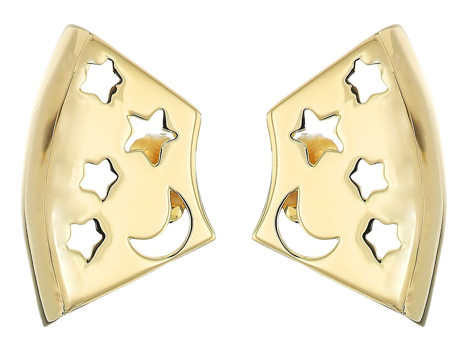 Elizabeth and James - Luca Earrings (Yellow Gold) Earring
