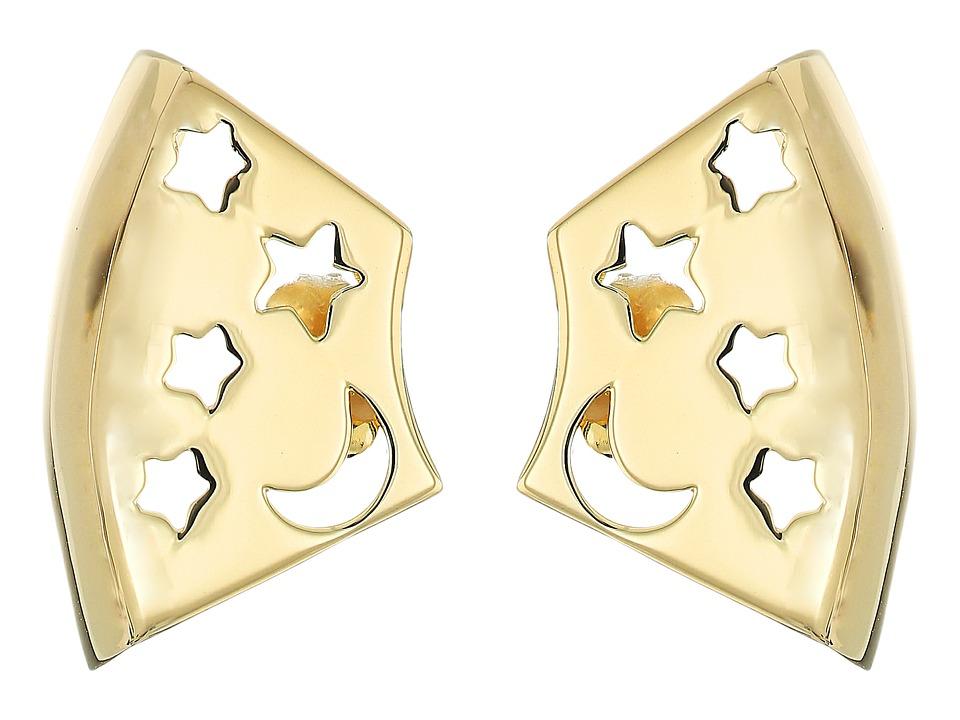 Elizabeth and James - Luca Earrings (Yellow Gold) Earring