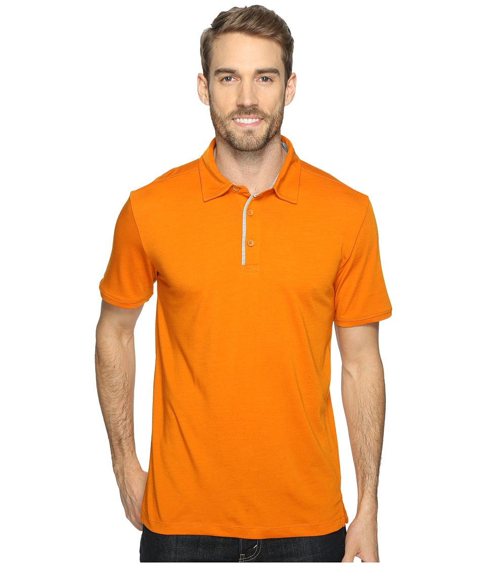 Royal Robbins - Merinolux Polo (Marmalade) Men's Clothing