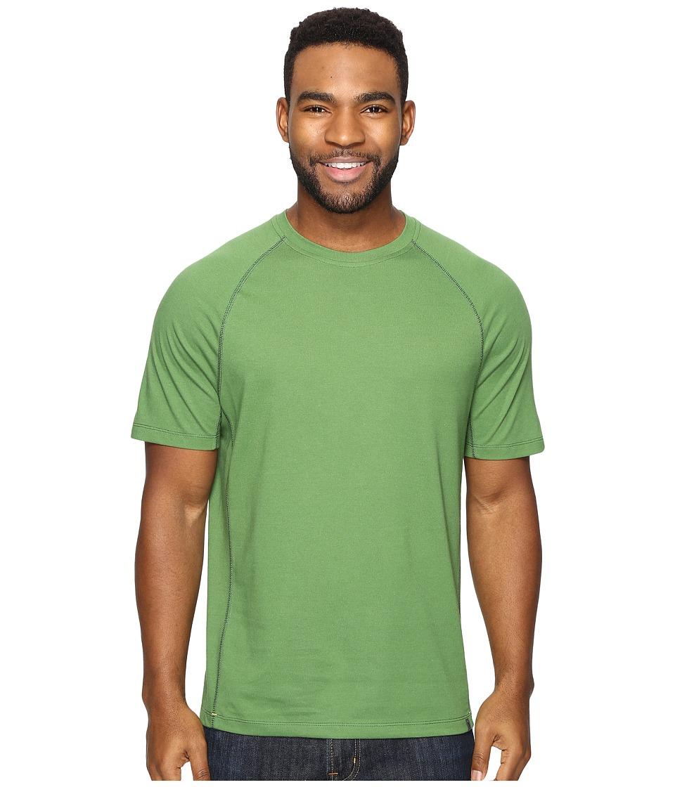 Royal Robbins - Wick-Ed Cool Short Sleeve (Ivy) Men's Clothing
