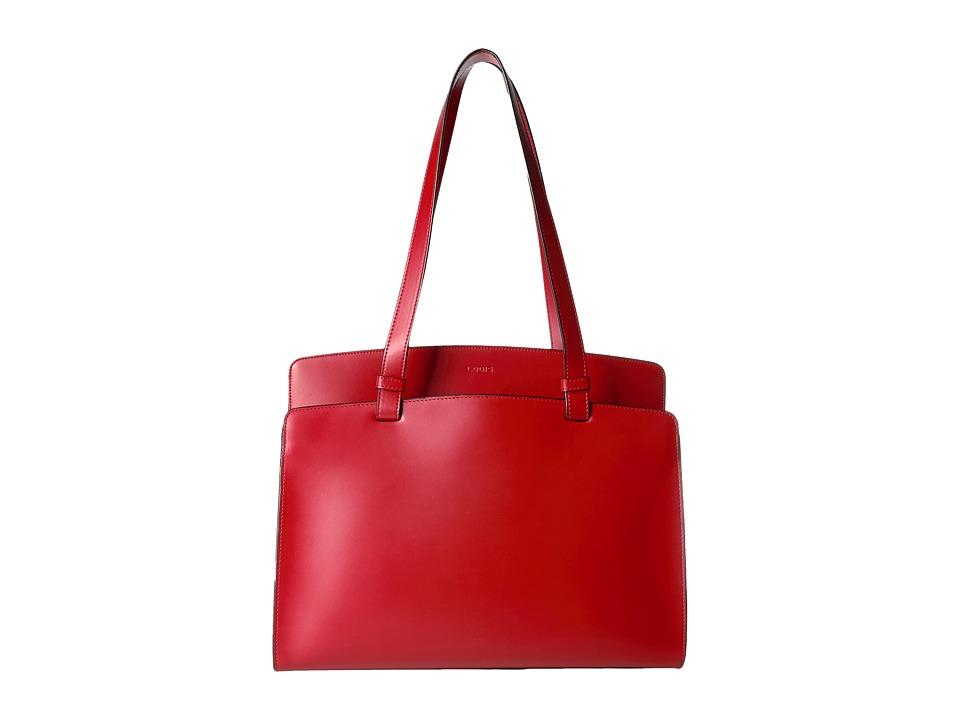Lodis Accessories - Audrey Jana Work Tote (Red) Tote Handbags