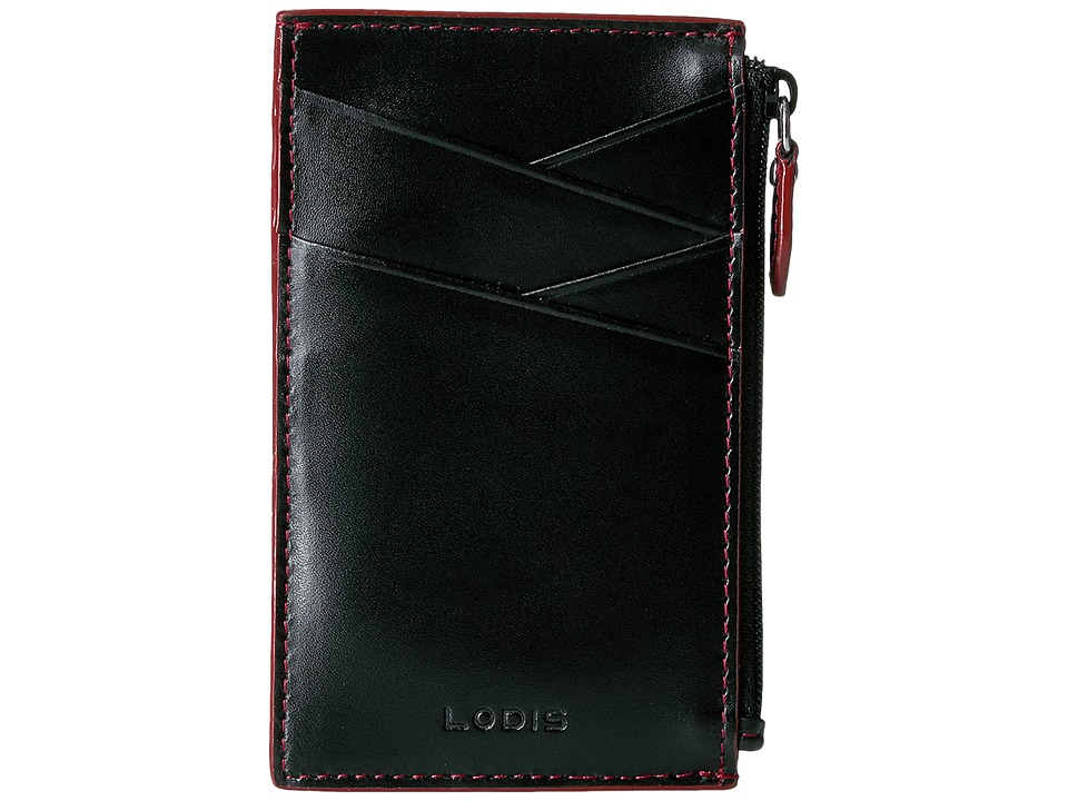 Lodis Accessories - Audrey Ina Card Case (Black) Credit card Wallet