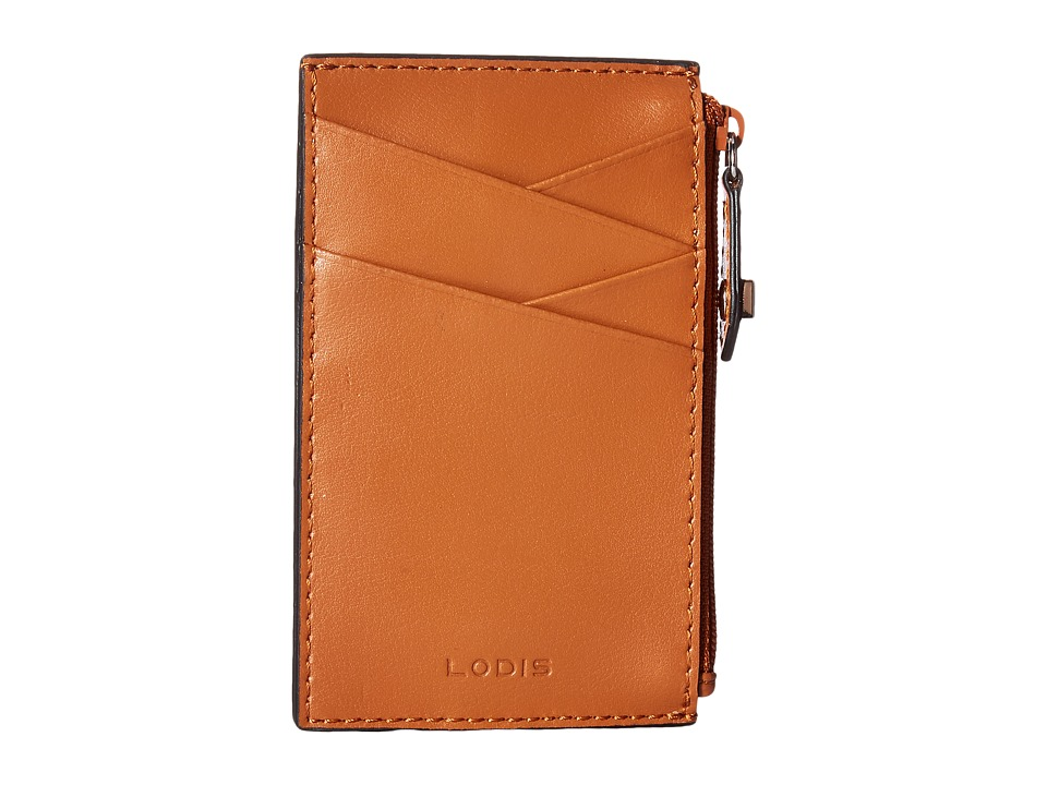 Lodis Accessories - Blair Ina Card Case (Toffee/Taupe) Credit card Wallet