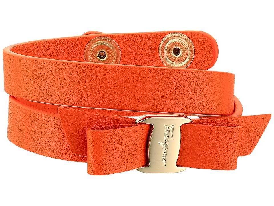 Salvatore Ferragamo - 342254 (Punch/Oro Chiaro) Bracelet
