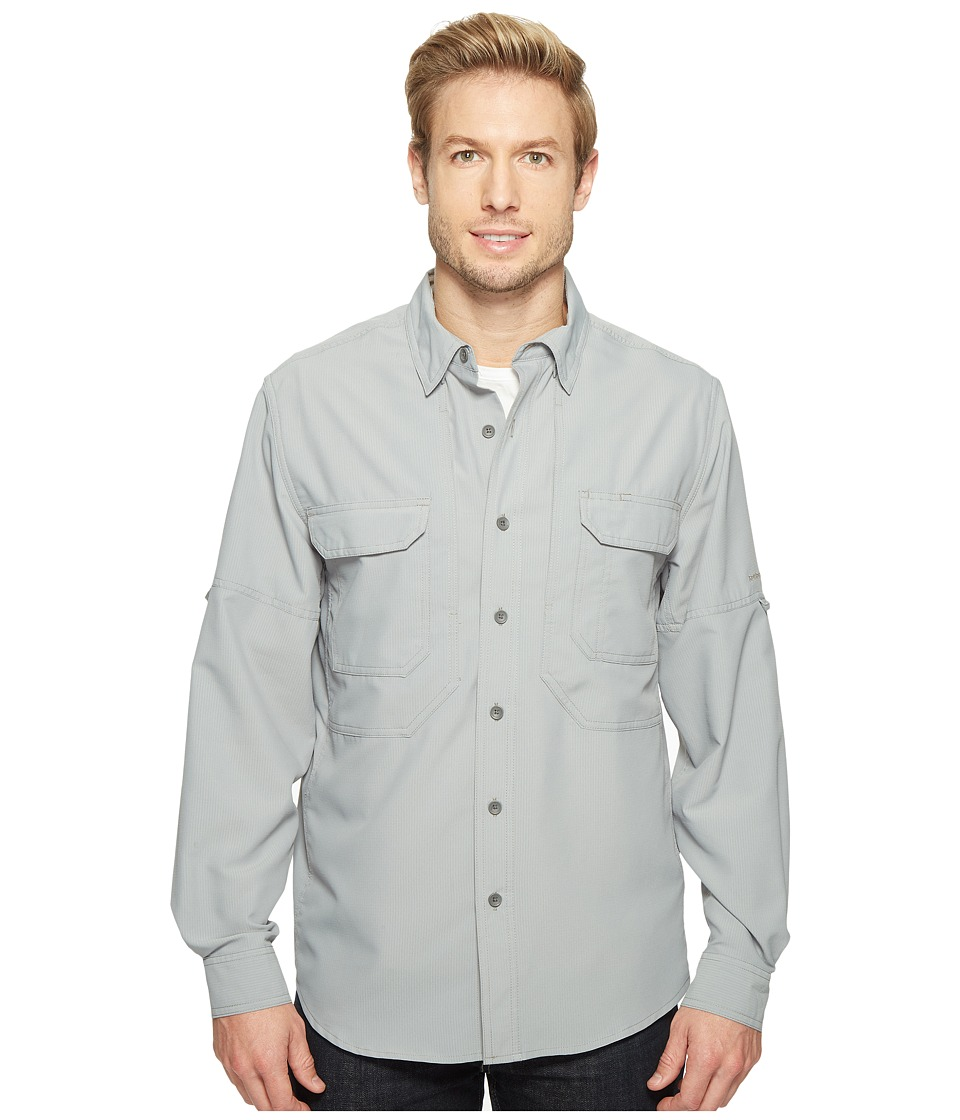 Royal Robbins - Expedition Chill Long Sleeve (Light Pewter) Men's Long Sleeve Button Up